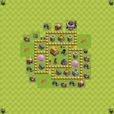 coc village layout level 5 best bases layouts plans for clash of clans th 5 town hall level 5