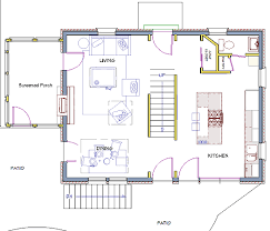 colonial plans after modest colonial floor plan see walls of stairwell opening