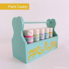 diy paint caddy paint on the go