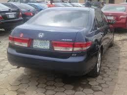honda accord 2003 model n1 020m 6 cylinder autos nigeria