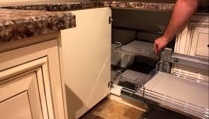 kitchen base cabinet storage ideas