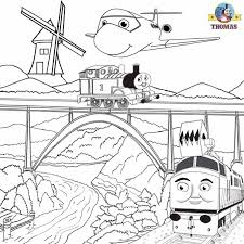 coloring pages thomas friends cool train coloring books az