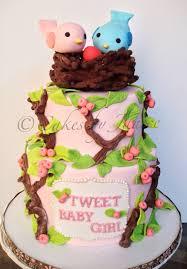 bird baby shower bird theme nesting theme baby shower for girl cakecentral
