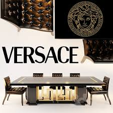 versace dining room table 3d models table chair versace chair shadow dining tables cartesio