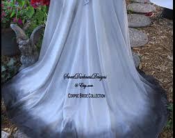 ghost wedding dress bloody wedding dress etsy