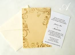 Do It Yourself Wedding Invitations Homemade Wedding Invitation Ideas Do It Yourself Wedding Invitations