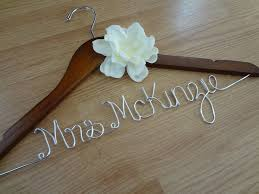 personalized wedding hangers personalized wedding dress hanger wedding corners