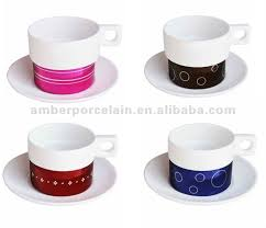 modern coffee cups modern 150cc stackable coffee cup saucer set shop for sale in