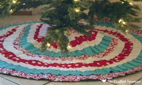 Christmas Tree Skirts Walmart 25 Days Of Christmas Day 10 The Crafted Sparrow