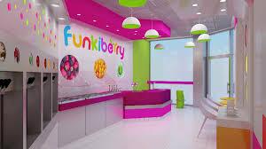 Interior Design Of Shop Interior Design Of Yogurt Shops Commercial Interior Design News