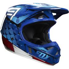 fox racing motocross gear fox racing youth v1 captain america limited edition helmet