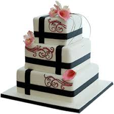 wedding cake nottingham fuschia wedding cake kimboscakes leicestershire
