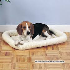 Comfortable Dog Petedge Com Slumber Pet Sherpa Crate Beds Home U0026 Travel