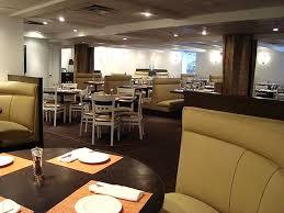 dining room hospitality interior design of truva restaurant
