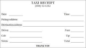 printable bill receipt cab bill template daway dabrowa co