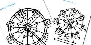 ferris wheel coloring free download