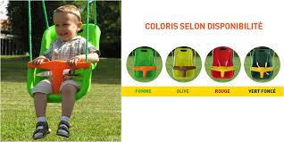 siège balançoire bébé accessoire balançoire siège bébé agrès portique 2 à 2 50m soulet