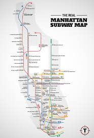 Map Of New York And Manhattan by Judgemental Nyc Subway Map Thrillist