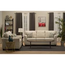 casual contemporary ivory sofa wall st rc willey furniture store