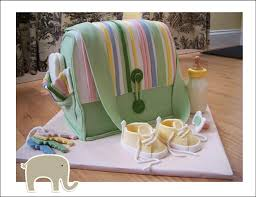 baby showers for baby boys and baby girls fondant diaper bag