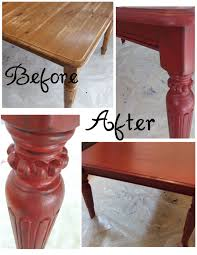 To Paint Kitchen Table From Thrifty  With How A Picture  Trooque - Painting a kitchen table