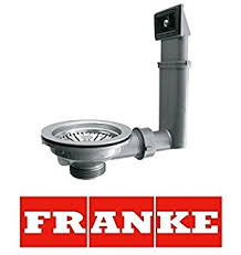 PopUp Waste Fitting For Franke EFX  Installation Sink Strainer - Kitchen sink pop up waste