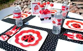 ladybug baby shower table decorations 8 1 2012 2 baby shower diy
