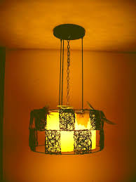 Hanging Pendant Lights Bedroom Hanging Pendant Lights In Bedroom Sheepskin Paper Rustic L