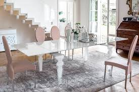 all glass dining table vendome glass dining table by tonin casa room service 360