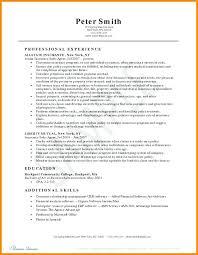 Insurance Resume Template Sample Insurance Resume Insurance Agent Resume Agent Resume