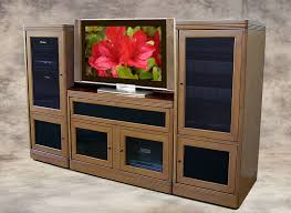 tv stands audio cabinets theater tech system two wall unit tt 100 tv base and 2 tt 200