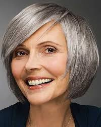 stylish cuts for gray hair 150 best silver hair images on pinterest hairstyles beautiful
