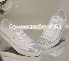 wedding shoes converse bridal wedding shoes conversecrystals