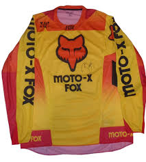fox motocross jersey james