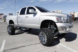 lifted silver dodge ram 2500 truck dodge ram lifted trucks