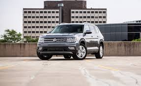 volkswagen atlas seating 2018 volkswagen atlas in depth model review car and driver
