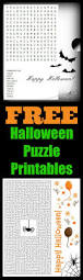 Halloween Puzzles Printable by Halloween Puzzles