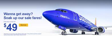 southwest sale southwest airlines sale flights within the us caribbean mexico
