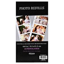 photo album page refills 3up 4x6 photo album page refills walmart