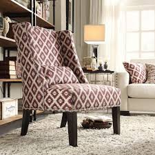 impressive nailhead accent chair with napoleon linen brass nail