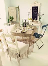 dining room astounding shabby chic dining room with fall ornament