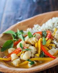 thai seafood curry recipe u2022 steamy kitchen recipes