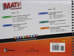 amazon com glencoe math accelerated a pre algebra program volume