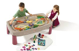 Imaginarium Mountain Rock Train Table Step2 Deluxe Canyon Road Train And Track Play Table Walmart Com
