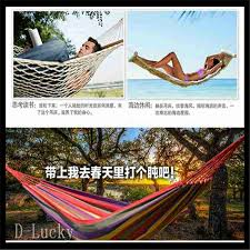 free shipping double hammock camping survival hammock parachute