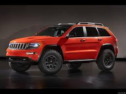 jeep suv 2013 2013 jeep grand cherokee trailhawk ii concept front hd