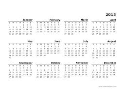 yearly calendar template 2015 great printable calendars