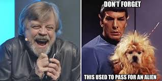 Lando Calrissian Meme - funny memes that show star wars is better than star trek