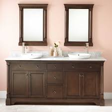 Modern Bathroom Storage Ideas Bathroom Dark Wood Vanity Cabinets With Five Drawers And Double