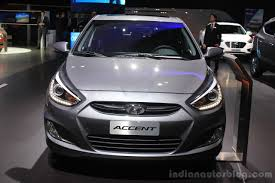 hyundai india accent 2015 hyundai accent front at the 2014 los angeles auto